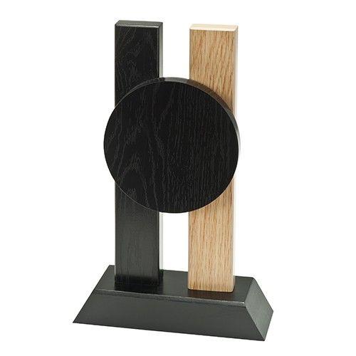 Træ statuette