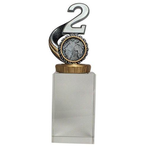 Glasblok 2. plads award
