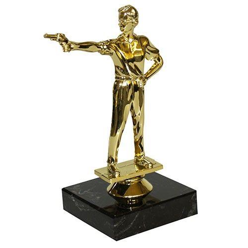 Pistolskydning statuetter
