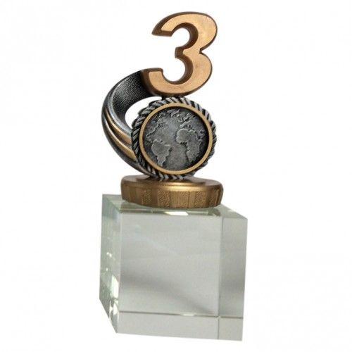 Glasblok 3. plads award