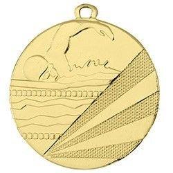 Svømme Guldmedalje (inkl. medaljebånd)