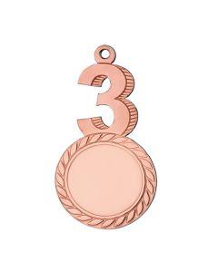 3. plads medalje (inkl. emblem & medaljebånd)