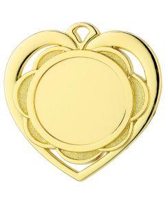Medalje Pakke Hjerte 100stk