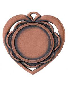 Hjerte Bronzemedaljer (inkl. emblem & medaljebånd)